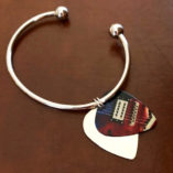 Ball Bracelet with Picks Charm - Guitar Design