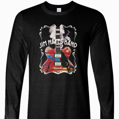 Jim Hayes Band Long Sleeve Tee - Label Design